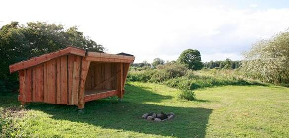Sarup shelter og teltplads – Assens Kommune